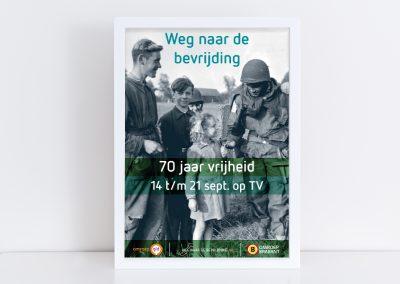 Poster Op weg naar de Bevrijding