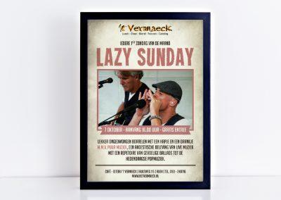Poster Lazy Sunday