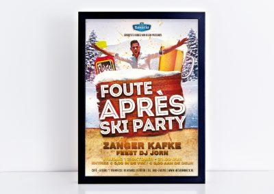 Poster Foute Apres Ski Party